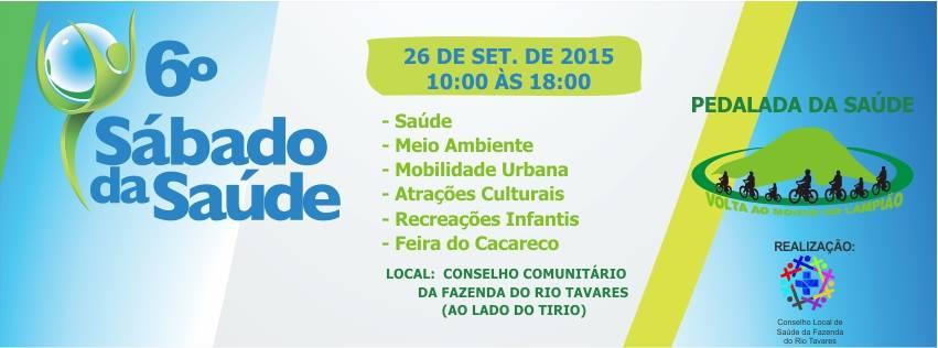 Sábado da Saúde no Conselho Comunitário do Rio Tavares