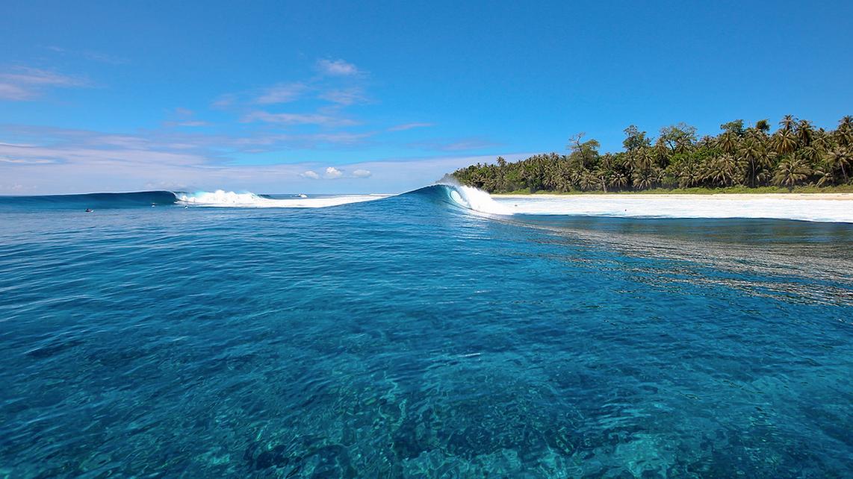 Mentawai - Melhor relação vento X swell