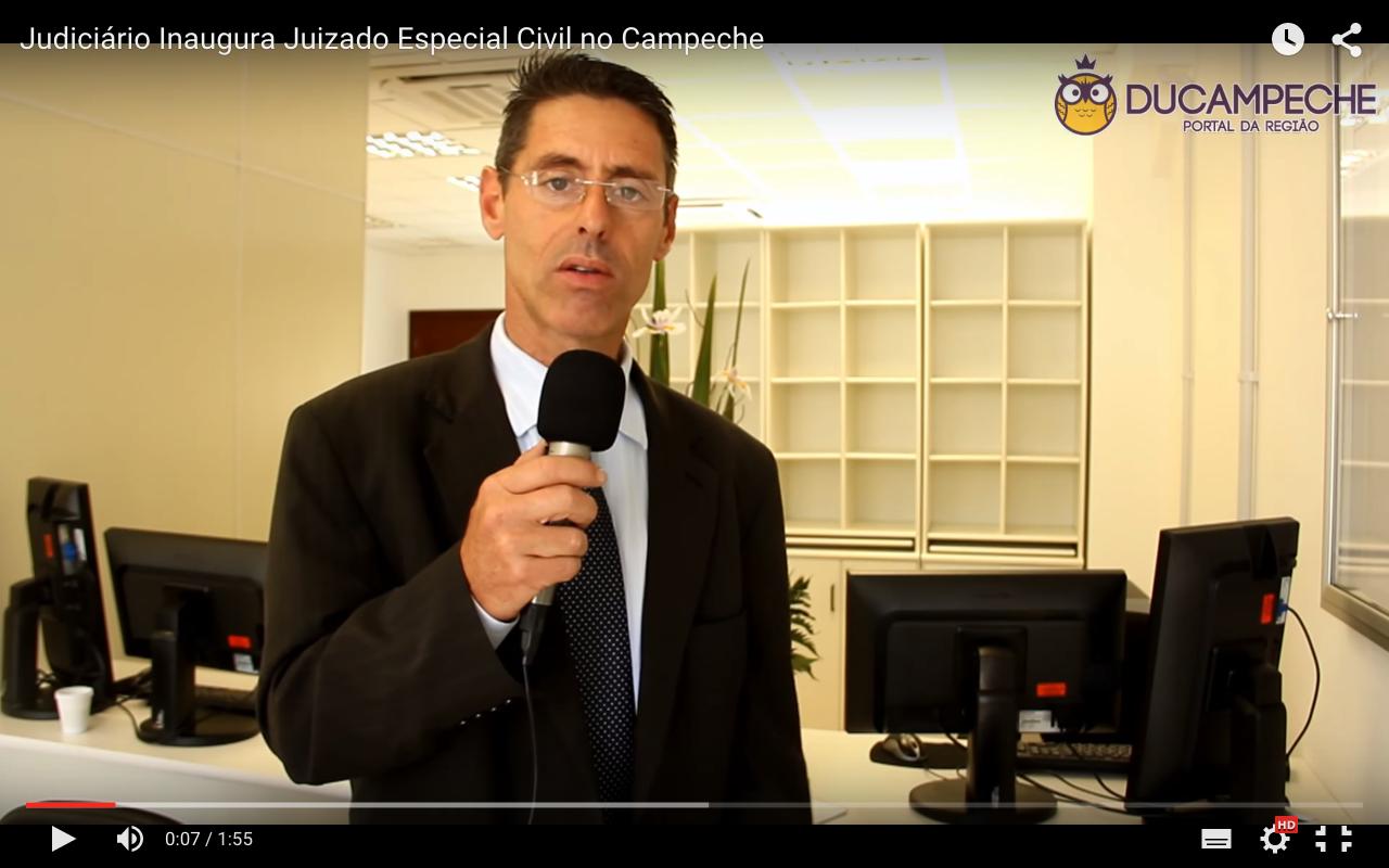 Judiciário Inaugura Juizado Especial Civil no Campeche