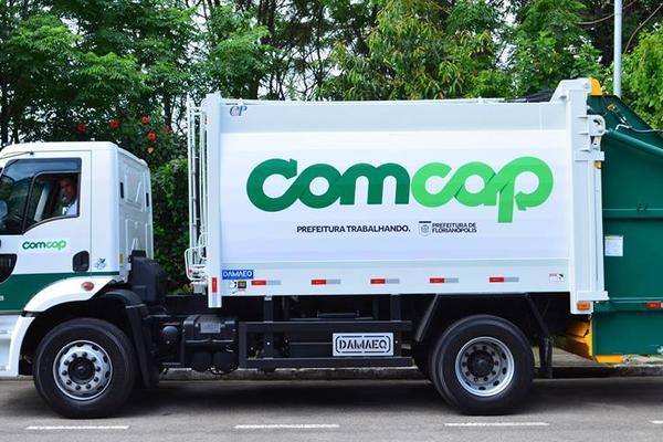 Trabalhadores da Comcap fazem paralisação de 24h