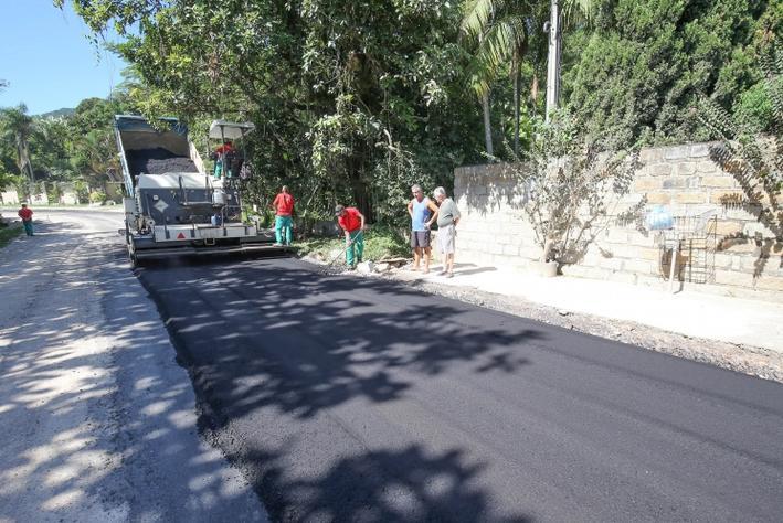 Rodovia Baldicero Filomeno, no Ribeirão, ganha quase 4km de asfaltamento