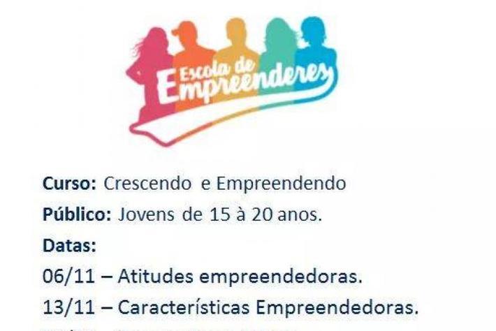 Escola de Empreendedores. Foto: Coordenadoria da Juventude