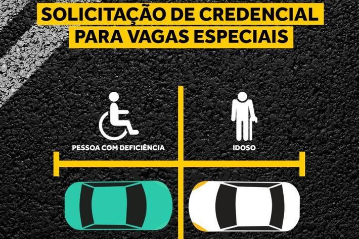 Credencial idoso e pessoa com deficiência. Foto: PMF.