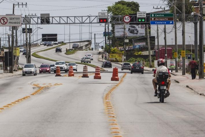 SC-405 é uma das rodovias estaduais que cortam Florianópolis.