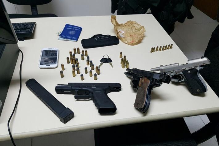 Polícia Militar apreende 32 armas em Florianópolis nos primeiros 24 dias de janeiro