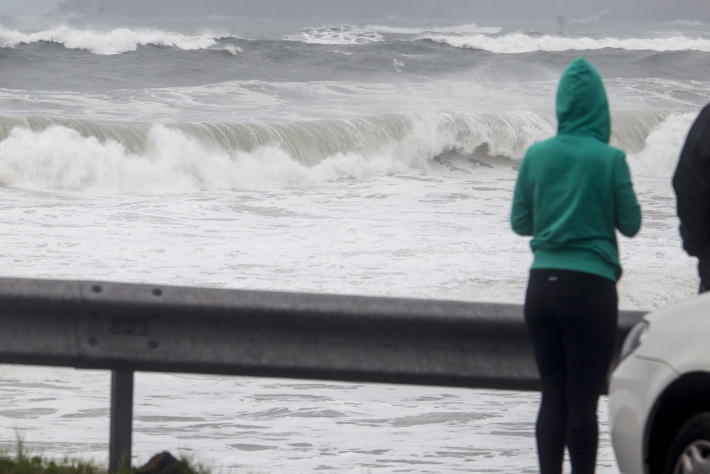 Previsão é de ondas de 2,0 a 2,5 m próximo ao litoral - Flávio Tin/ND