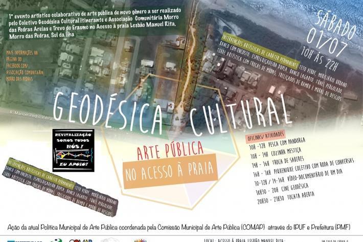 Evento artístico colaborativo qualifica área pública na localidade do Morro das Pedras