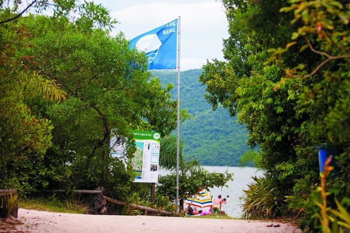 Lagoa do Peri recebe Bandeira Azul - Flávio Tin/ ND