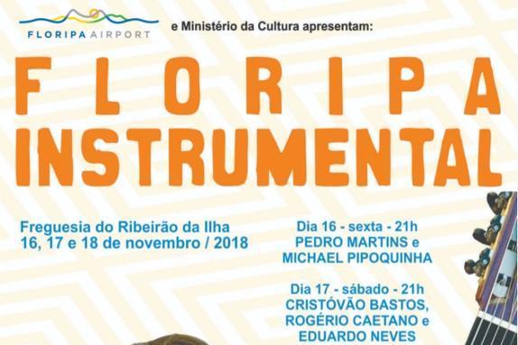 De 16 a 18 de novembro tem Floripa Instrumental no Ribeirão da Ilha