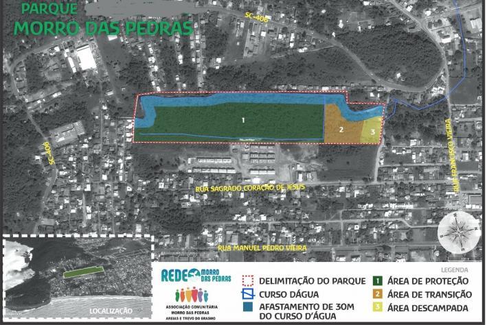 Biólogos realizam laudo técnico florestal da área pública do Parque Morro das Pedras